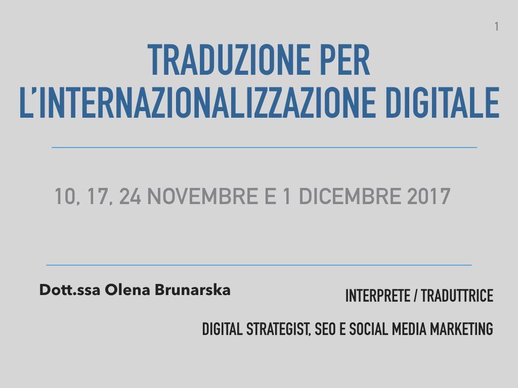 Traduzione per l'internazionalizzazione digitale_Mediazione Linguistica